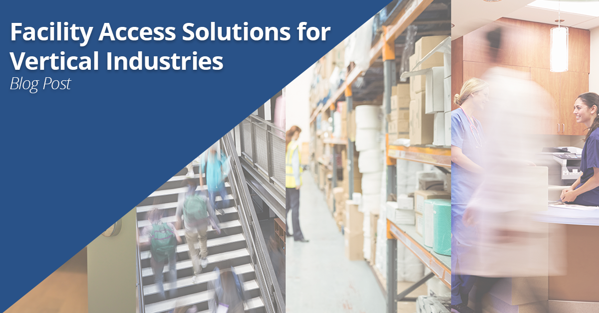 Facility Access Solutions for Vertical Industries