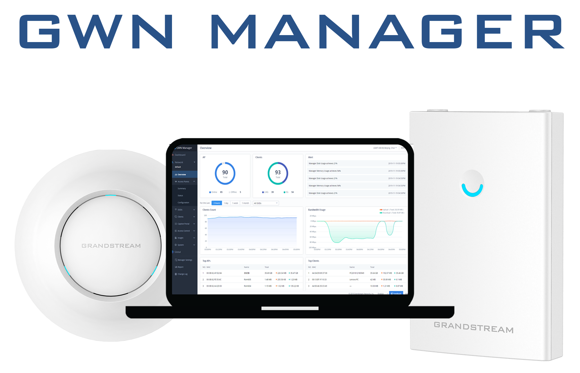 Grandstream Officially Releases On-Premise Software Controller for Wi-Fi APs