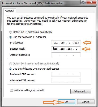 GXV3175 network settings