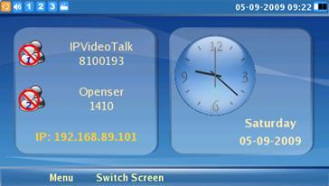 GXV3140 screen demo IP